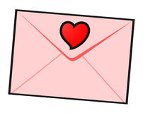 Private love letter Royalty Free Stock Photo