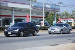 Private luxury car, Benz C180. Stock Image