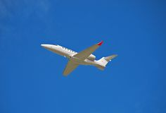 Private luxury jet Royalty Free Stock Images