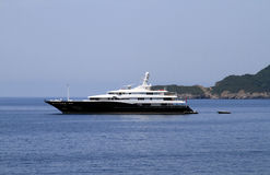 Private luxury yacht Royalty Free Stock Image