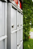 Private mail boxes Royalty Free Stock Photography