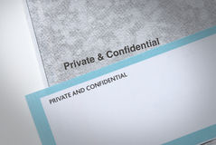 Private mail Stock Image