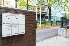 Private mailboxes Royalty Free Stock Image