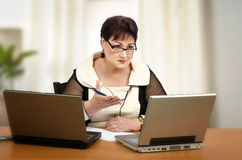 Private math tutoring online Stock Photography