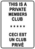 Private Member's Club Stock Images
