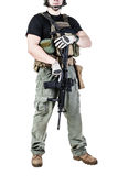 Private military contractor PMC Stock Photos