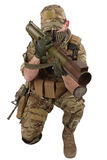 Private Military Contractor with RPG rocket launcher Royalty Free Stock Photography