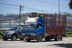 Private Mitsubishi Canter Cargo Truck. Stock Image