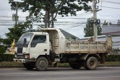 Private Mitsubishi Canter Dump Truck Stock Photography