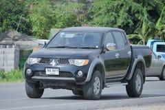 Private Mitsubishi Pick up car Stock Image