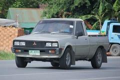Private Mitsubishi Pick up car Royalty Free Stock Photography