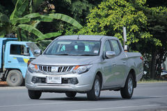 Private Mitsubishi Pick up car Royalty Free Stock Photos
