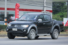 Private Mitsubishi Pick up car Stock Images