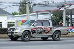 Private Mitsubishi Pick up car Royalty Free Stock Photo