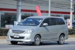 Private MPV Car, Toyota Innova. Royalty Free Stock Photography