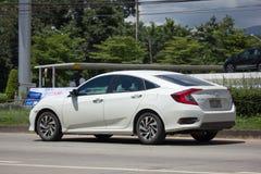 Private New Car Honda Civic  Tenth generation Stock Photo