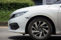 Private New Car Honda Civic  Tenth generation Stock Photos
