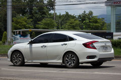 Private New Car Honda Civic  Tenth generation Royalty Free Stock Photo