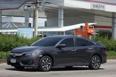 Private New Car Honda Civic  Tenth generation Stock Images