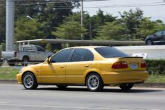 Private Old Car Honda Civic Royalty Free Stock Photo