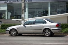 Private Old Car Honda Civic Royalty Free Stock Image