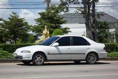 Private Old Car Honda Civic Stock Photo