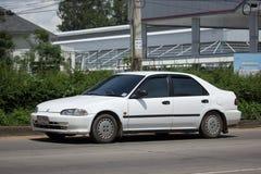 Private Old Car Honda Civic Stock Images