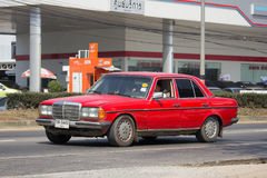 Private old car of Mercedes Benz 300D Stock Photo