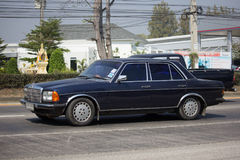 Private old car of Mercedes Benz 300D Stock Images