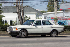 Private old car of Mercedes Benz 300D Royalty Free Stock Image