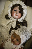 Private old dolls collection Stock Image