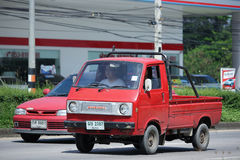 Private Old Mini Pick up Truck, Suzuki Carry Royalty Free Stock Photo