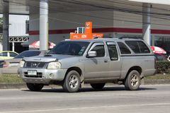 Private Old Pickup car, Nissan Frontier Royalty Free Stock Images