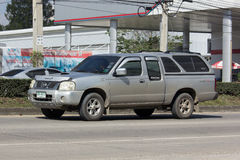 Private Old Pickup car, Nissan Frontier Royalty Free Stock Photo