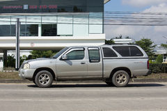 Private Old Pickup car, Nissan Frontier Royalty Free Stock Photos