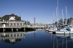Private party boat club waterfront Royalty Free Stock Images