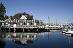 Private party boat club waterfront Royalty Free Stock Photos