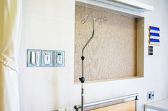 Private patient room Royalty Free Stock Photography