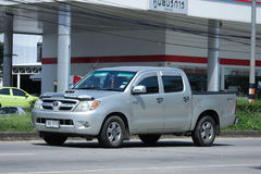Private Pick up Car, Toyota Hilux Vigo. Stock Photography