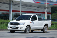 Private Pick up Car, Toyota Hilux Vigo. Royalty Free Stock Image