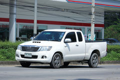 Private Pick up Car, Toyota Hilux Vigo. Royalty Free Stock Images