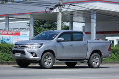 Private Pick up Car, Toyota New Hilux Revo Stock Photo