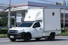 Private Pick up container truck. Stock Image