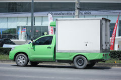 Private Pick up container truck. Stock Photos