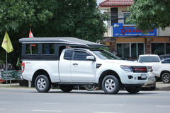 Private Pickup car, Ford Ranger. Royalty Free Stock Photos