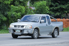 Private Pickup car, Nissan Frontier. Royalty Free Stock Images