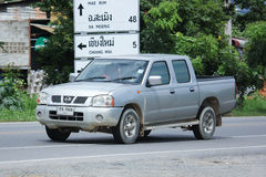 Private Pickup car, Nissan Frontier. Royalty Free Stock Image
