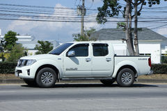 Private Pickup car, Nissan Frontier. CHIANGMAI, THAILAND -NOVEMBER  1 2015: Private Pickup car, Nissan Frontier. Photo at road no 121 about 8 km from downtown Stock Photography
