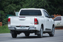 Private Pickup car, Toyota Hilux Revo. Royalty Free Stock Images
