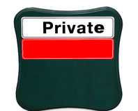 Private Royalty Free Stock Photography